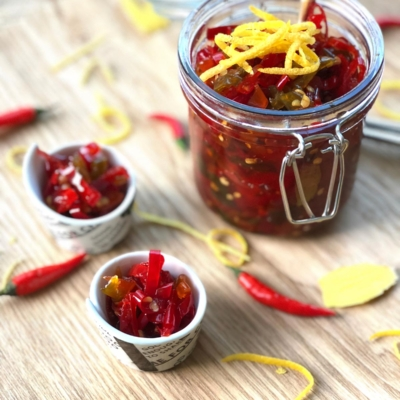 Chilli Ginger and Lemon Jam