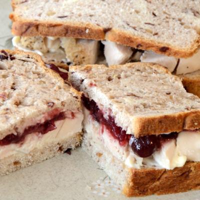 Bread Machine Cranberry Walnut Bread