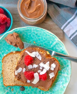 Peppermint Hot Chocolate Spread
