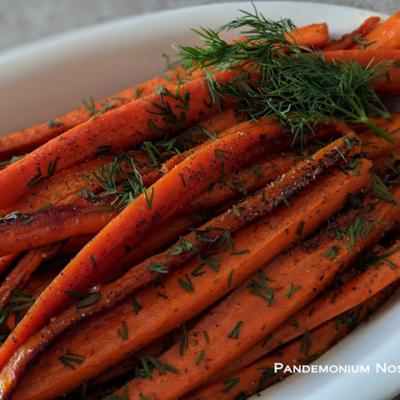 Honey Roast Carrots