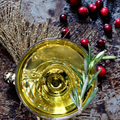 Winter White Negroni Cocktail