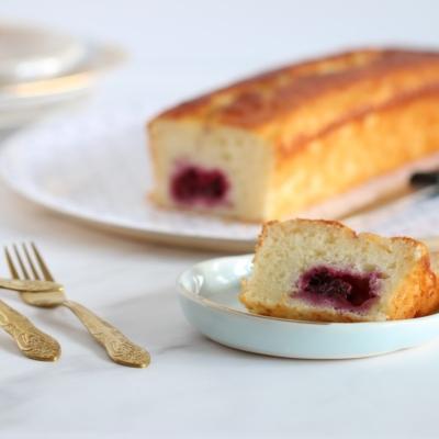 Raspberry Sour Cream Bread