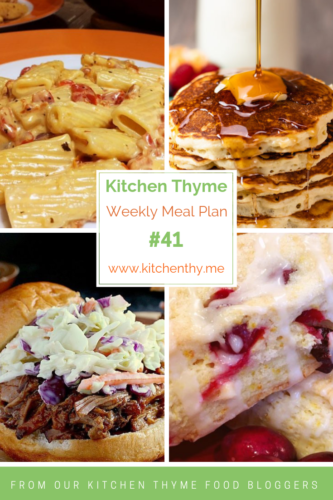 Kitchen Thyme Meal Plan #41