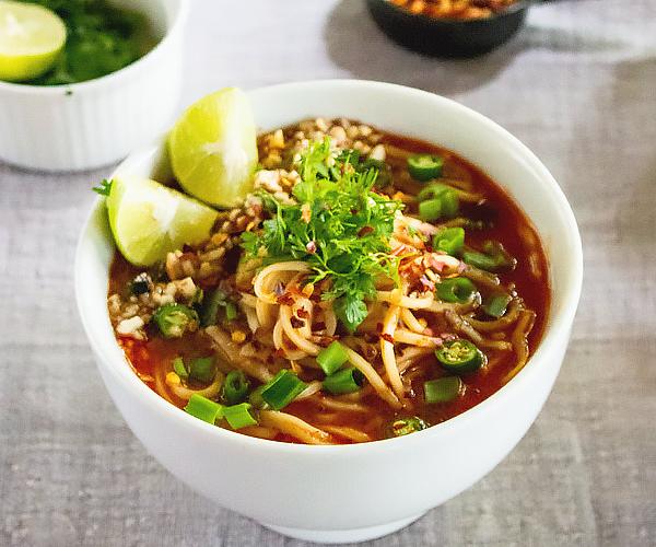Soup Kitchen Near Me: Spicy Thai Noodle Soup