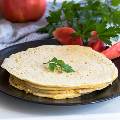 Gluten-Free and Vegan Tortillas with Chickpea Flour