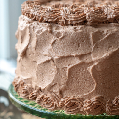 Chocolate Whipped Cream Frosting