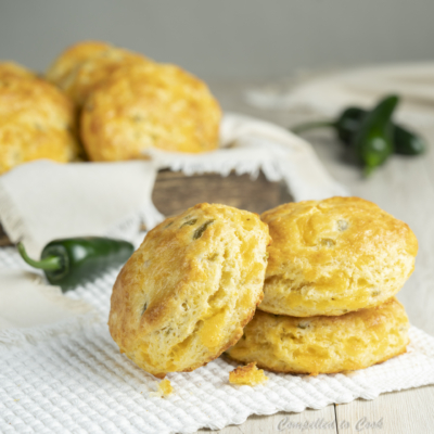 Flakey Jalapeño Cheddar Biscuits
