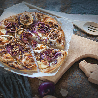 Goat Cheese and Fig Tart