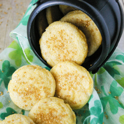 Gold Coin Butter Cookies