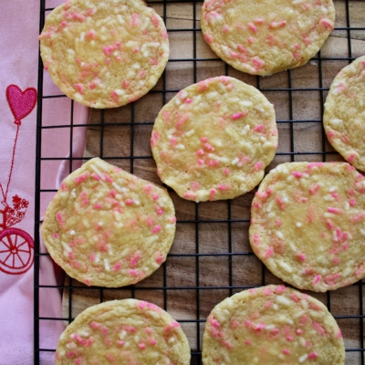 Be Mine – Pudding Sprinkle Cookies