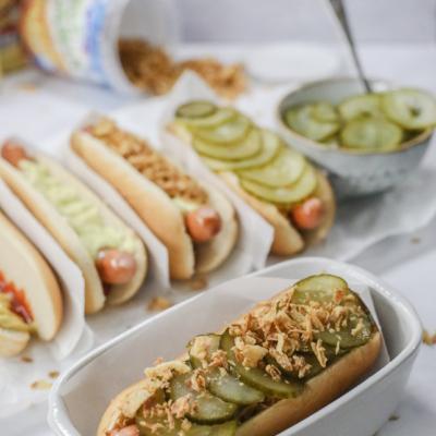 Danish Hot Dog (Ristet Hot Dog)