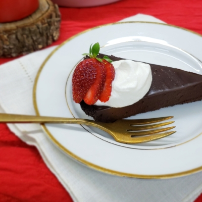 Shortcut Chocolate Truffle Tart