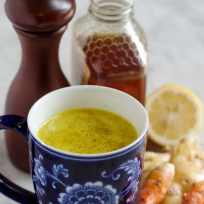 Turmeric Tonic Hot or Cold