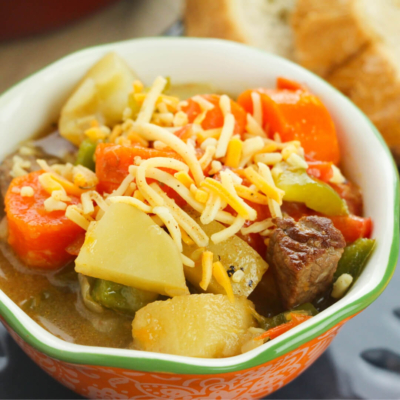 One Pot Old-Fashioned Beef Stew (Goulash)
