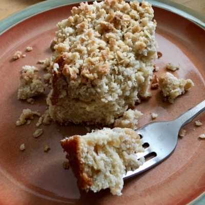Maple Coffee Cake with Oat Streusel