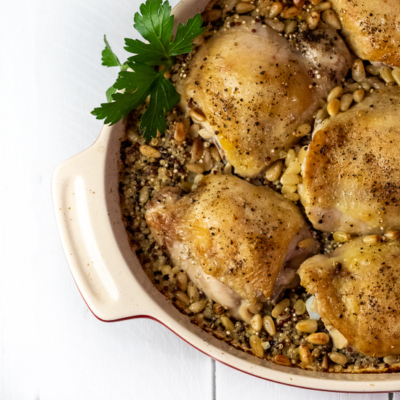 Chicken Quinoa Bake