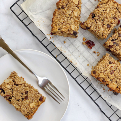 Dairy-Free Baked Oatmeal Bars