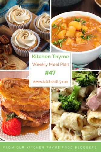 4 food photos on Meal Plan #47