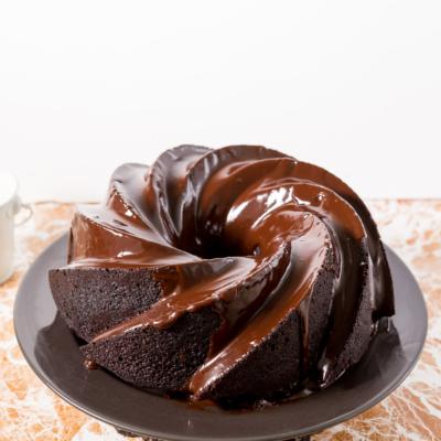 Devil's Food Chocolate Bundt Cake