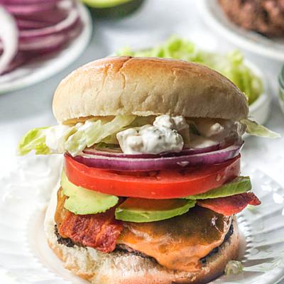 Fat Tuesday Burger & Keto Version Too