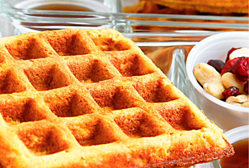 waffle without syrup