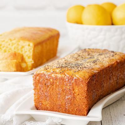 Easy Lemon Cake in Two Versions