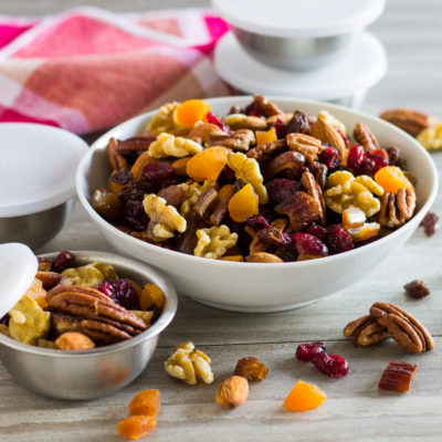 Trail Mix with Fruit and Nuts
