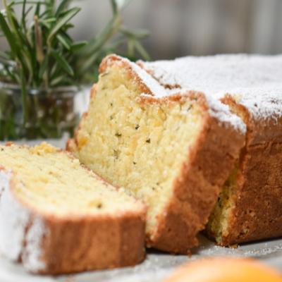 Meyer Lemon and Rosemary Cake