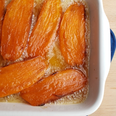 Candied Roasted Sweet Potatoes