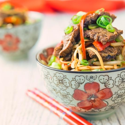 Chili Beef and Noodles