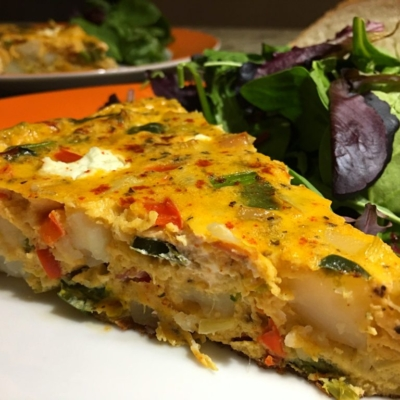 Pancetta Vegetable Frittata