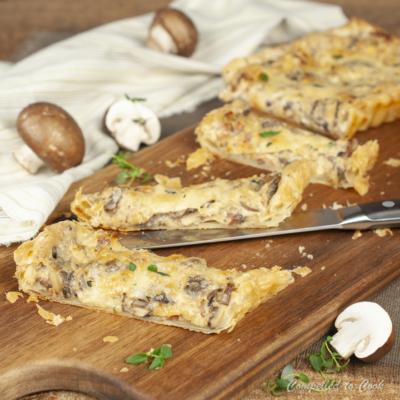 Mushroom Gruyere Tart