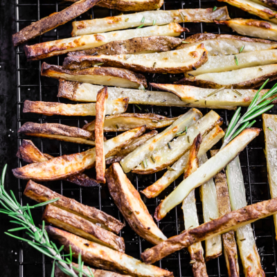Oven Baked Rosemary Fries