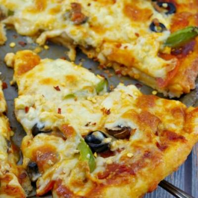 Weight Watchers 2 Ingredient Pizza Dough