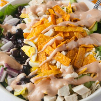 Southern BBQ Chicken Salad