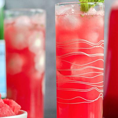 Refreshing Watermelon Spritzer