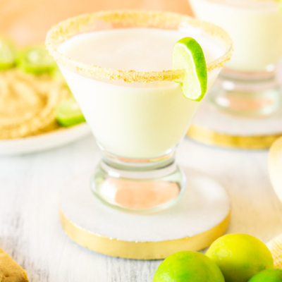 Sparkling Key Lime Pie Martini
