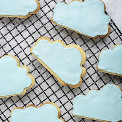 Rainy Day Cloud Cookies
