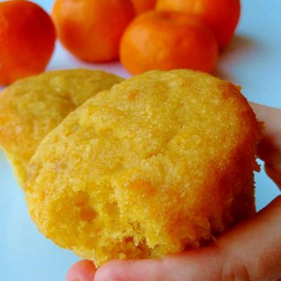 Orange Cupcake Muffins