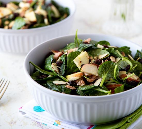 2 bowls of Smoked Salmon Salad
