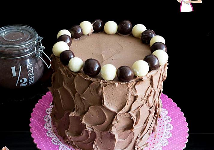 vanilla Kahlua cake