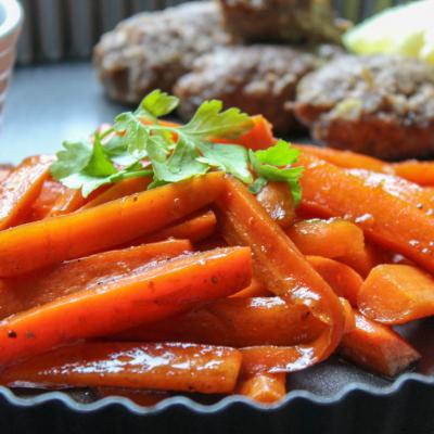 BBQ Balsamic Vinegar Carrots Sticks