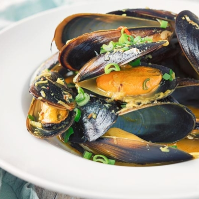 Quick and Easy Indian Curry Mussels