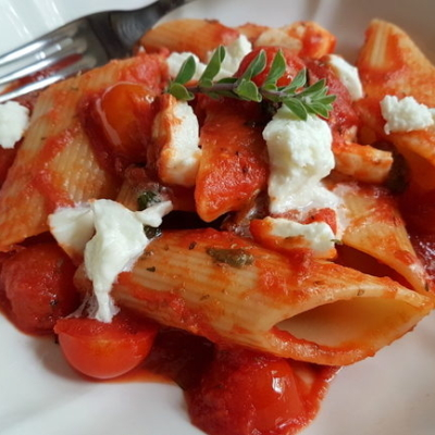 Pasta alla Pizzaiola Recipe from Puglia