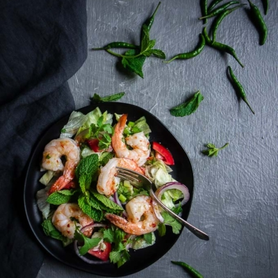Spicy Thai Shrimp Salad