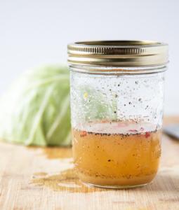 Sweet and tart coleslaw dressing