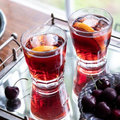 Tart Cherry Negroni