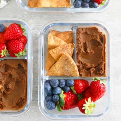 The 4 ingredient Guilt Free Chocolate Hummus