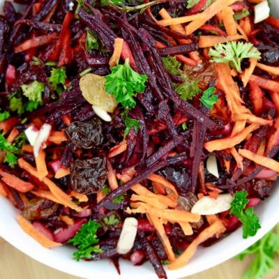 Beet, Carrot Raw Slaw