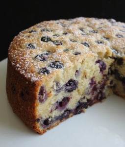 ricotta tea cake